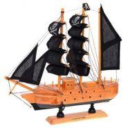 Корабль, L23,5 W5 H23,5 см (с пиратскими парусами)  Артикул: 672987  (12664)