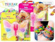 Набор цветных резиночек Бабочка (180 шт) (TZ 12856)
