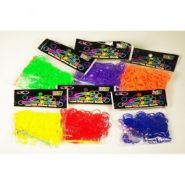 Резиночки для плетения. 50 резиночек АРОМА 1 цв. в пакете  (AN-35)