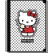 Тетрадь общая на гребне  Hello Kitty Classic White