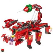 Конструктор Робо-Самураи Робот-Скорпион 516 деталей