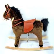 Лошадь-качалка с функцией движения и музыкой, L 90, W 31, H 78 см